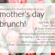 Vine & Dine: Mother's Day Brunch!